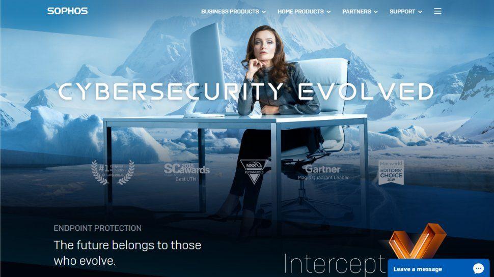 برنامج Sophos Intercept x لمكافحة الفيروسات