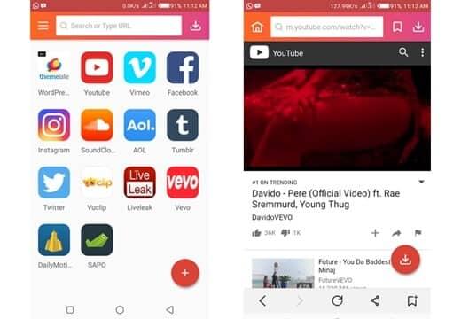 برنامج InsTube Free Video & Music Downloader