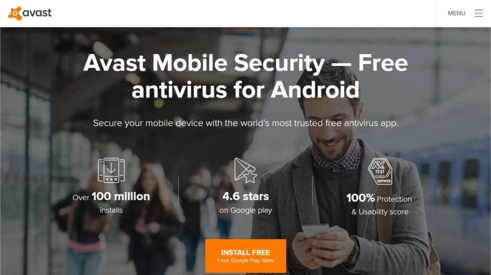 برنامج Avast Mobile Security