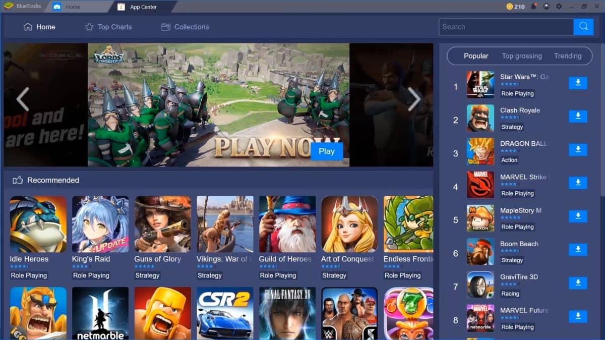 تشغيل برامج وألعاب اندرويد على الكمبيوتر ويندوز 7