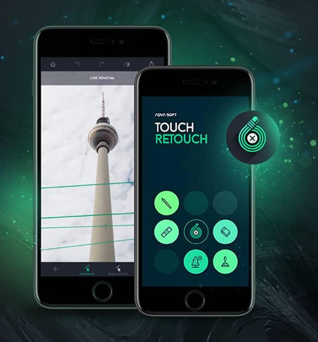 برنامج TouchRetouch فوتوشوب للاندرويد