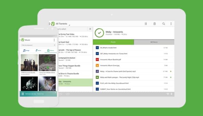 استخدام برنامج utorrent للاندرويد