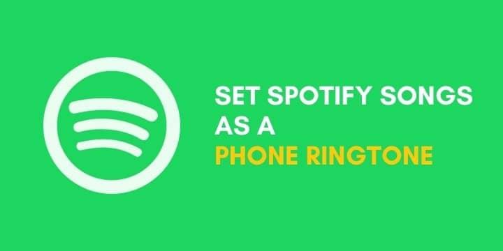كيفية تعيين أغاني Spotify كنغمة رنين