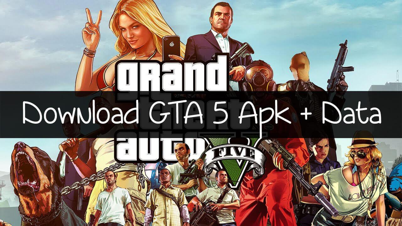 تحميل لعبة GTA 5 Apk + OBB Data لنظام أندرويد (شغالة)