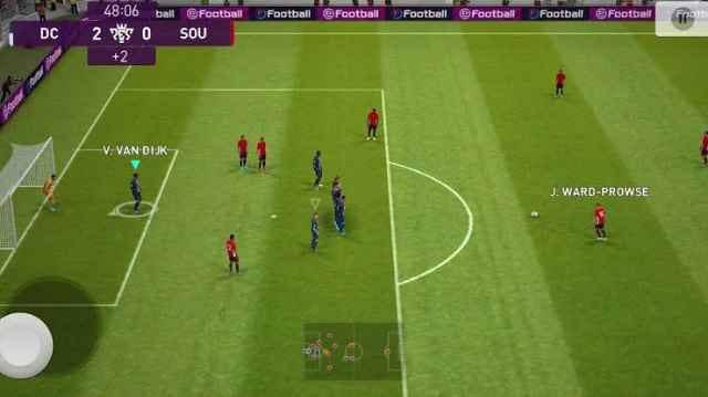 لعبة PES 2022 أندرويد apk مجانا