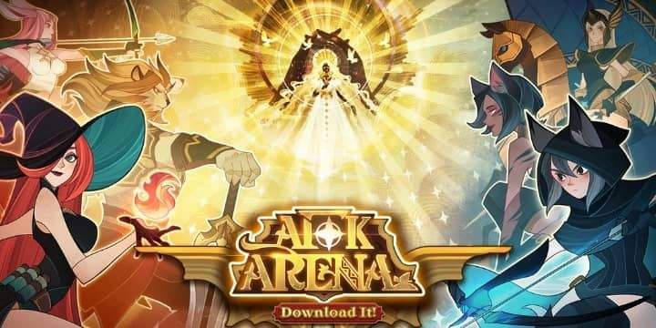 تحميل لعبة AFK Arena APK للاندرويد اخر اصدار كاملة